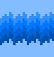 pixel blue knit pattern background vector image