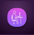 workplace app icon vector image vector image
