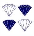 diamond symbols vector image