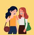 gossip concept vector image