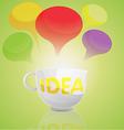 Idea Business Cup Cartoon vector image vector image