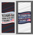 Layouts for veterans day