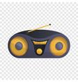 modern boom box icon cartoon style vector image