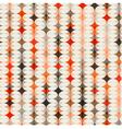 seamless geometric orange background vector image