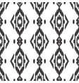 seamless pattern ikat wallpaper vector image vector image
