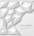 white 3d geometric abstract background