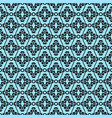 abstract black pattern vector image vector image