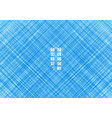 abstract blue striped lines streak diagonal vector image vector image
