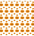 abstract seamless pattern of halloween clothes vector image