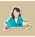 Doctor icon design vector image
