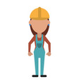 engineer construction or factory worker icon image vector image vector image