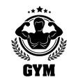 Gym design vector image vector image