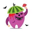 Halloween Monster Cartoon vector image vector image