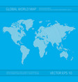 wave world map vector image