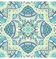 abstract mosaic tiles seamless pattern ornamental vector image vector image