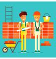 Builders Characters vector image
