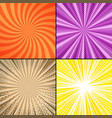 comic bright book pages set vector image
