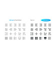 edit text ui pixel perfect well-crafted vector image vector image