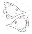 fishy fishy vector image vector image