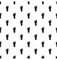 foot left leg pattern vector image vector image