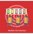 Mobile Revolution Concept vector image