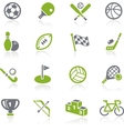 Sports Icons Natura Series vector image