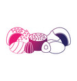 sweet candies isolated icon vector image vector image