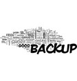 web site backup essentials that you should live vector image vector image