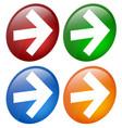 arrows in circles vector image