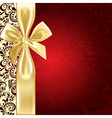 background bow vector image vector image