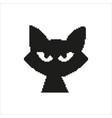 cat in pixel design vector image vector image