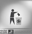 do not litter vector image