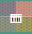 fashion print geometric poligonal pattern vector image vector image
