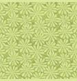 floral seamless pattern tiled oriental leaf vector image vector image