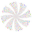 home fireworks swirl rotation vector image vector image