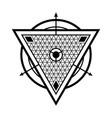 sacred geometry 0164 vector image