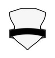 shield badge icon image vector image vector image