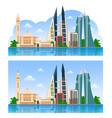 travel to bahrain manama vector image vector image