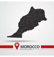 Morocco map vector image