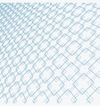 abstract blue lines squares pattern overlapping vector image vector image