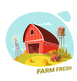 Farm And Fresh Products Concept