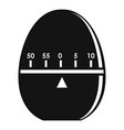 modern stopwatch icon simple style vector image vector image