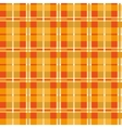 Orange seamless texture plaid vector image vector image