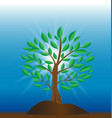 tree of light icon vector image