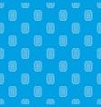 foot sponge pattern seamless blue vector image vector image