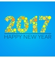 Happy new year 2017 design vector image vector image