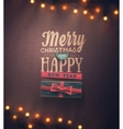 Holidays Background vector image vector image