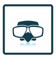 Icon of scuba mask vector image