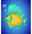 ornamental fish vector image vector image