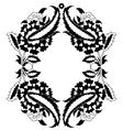 ottoman motifs three vector image vector image